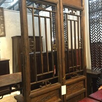 Antique Latticed Panels
