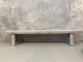 Grey-washed Bench
