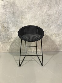 Outdoor Counter Stool - Black